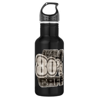 Love 80's Cafe Vintage- Stainless Steel Water Bottle