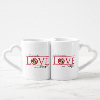 Love a Beagle Mug Set