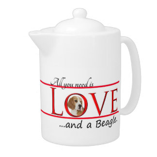 Love a Beagle Teapot