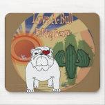 Love A Bull Rescue Mousepad