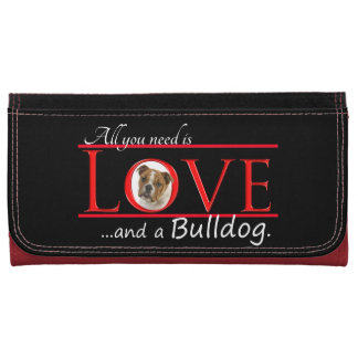 Love a Bulldog Wallet