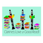 Love A Good Read Postcard