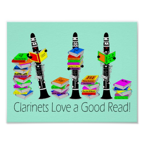 Love A Good Read Poster
