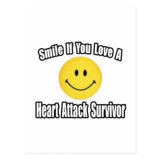 Love a Heart Attack Survivor Post Card