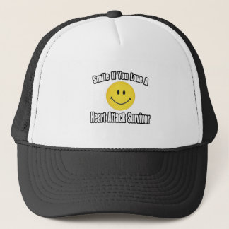 Love a Heart Attack Survivor Trucker Hat