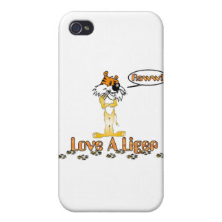 Love A Liger iPhone 4 Covers