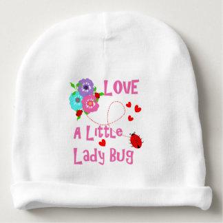 Love A Little Lady Bug Cute Kids Baby Beanie