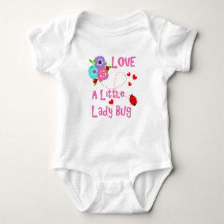 Love A Little Lady Bug Cute Kids Baby Bodysuit