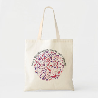 Love a Microbiologist Tote Bag