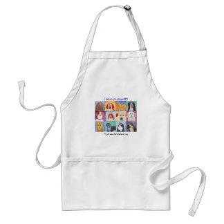 Love a mutt! adult apron