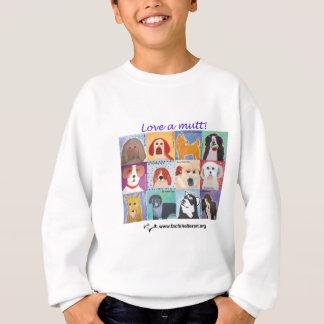Love a mutt! sweatshirt
