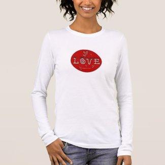 Love - A Positive Word Long Sleeve T-Shirt