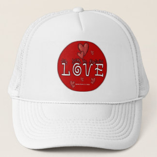 Love - A Positive Word Trucker Hat