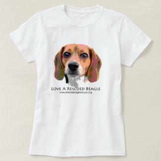 LOVE A RESCUED BEAGLE T-Shirt