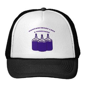 Love a Threesome Mesh Hat