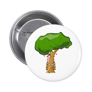 Love a Tree Day - Tree Hugger Button