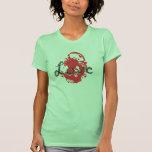 LOVE abstract design shirt