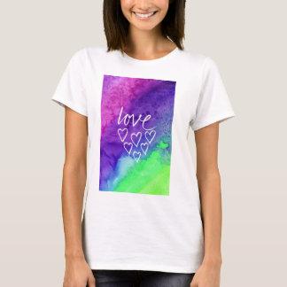 Love abstract watercolor T-Shirt