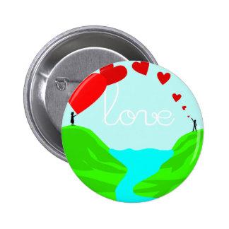 Love Across Borders Pinback Button