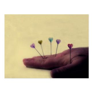 Love Acupuncture Postcard
