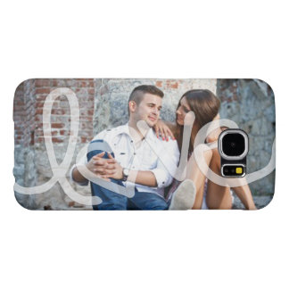 """""""Love"""" Add your photo Samsung Galaxy S6 Cases"""