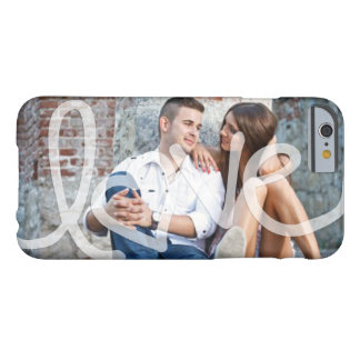"""Love"" Add your photo iPhone 6 Case"