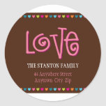 LOVE ADDRESS STICKER :: LOVELETTERS 4