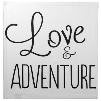 Love & Adventure Napkin