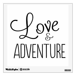 Love & Adventure Wall Sticker