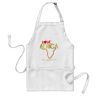 LOVE AFRICA APRONS