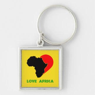 Love Africa keychain