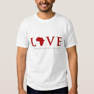 Love Africa T-shirts