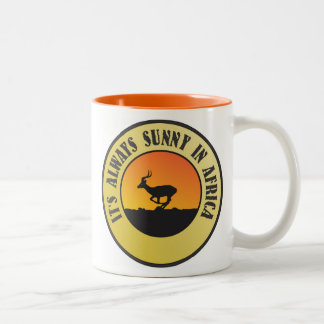 Love Africa Two-Tone Coffee Mug