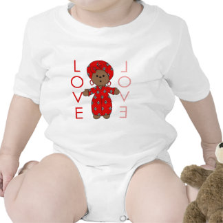 Love - African Doll Bodysuits