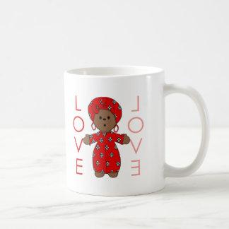 Love - African Doll Mugs
