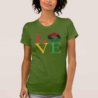 LOVE Afrocentric Lips T-Shirt