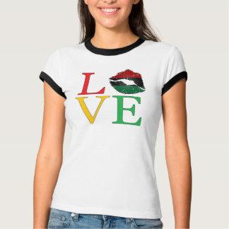 LOVE Afrocentric Lips T-Shirt