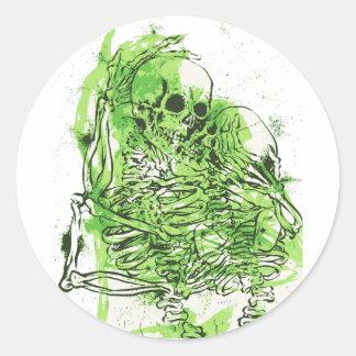Love After Death Classic Round Sticker