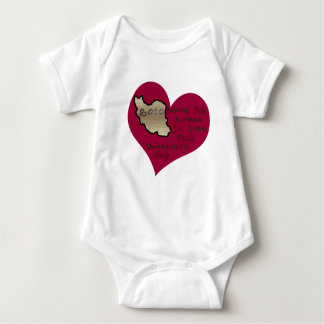 LOVE AIRMAN IRAN VAL DAY BABY BODYSUIT
