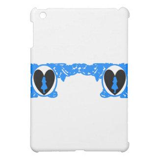 Love Alice Vintage Frame in Bright Blue iPad Mini Covers