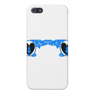Love Alice Vintage Frame in Bright Blue iPhone SE/5/5s Case