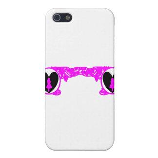 Love Alice Vintage Frame in Fuschia Pink iPhone SE/5/5s Case