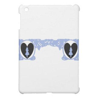 Love Alice Vintage Frame in Light Lilac iPad Mini Case