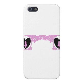 Love Alice Vintage Frame in Pale Pink Case For iPhone SE/5/5s