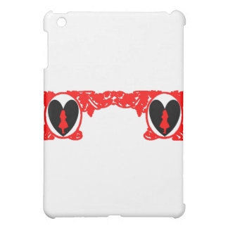 Love Alice Vintage Frame in Red Cover For The iPad Mini