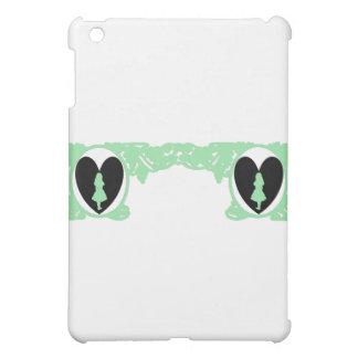 Love Alice Vintage Frame in Sea Green Case For The iPad Mini