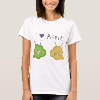 Love Alien Critters T-Shirt