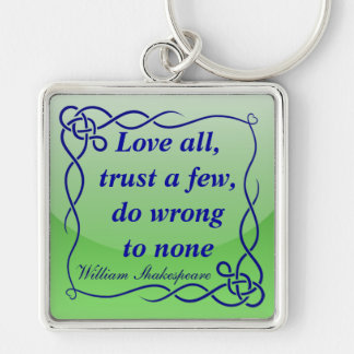 Love all keychain