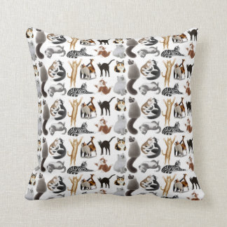 Love All Kitty Cats Pillow