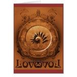 Love all ways always greeting card